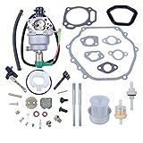 Haishine Carburetor Solenoid Gasket Bolt Repair Kit for Honda GX390 GX340 GX 340 390 Chinese 188F 190F 8HP-13HP Motor Engine Generator