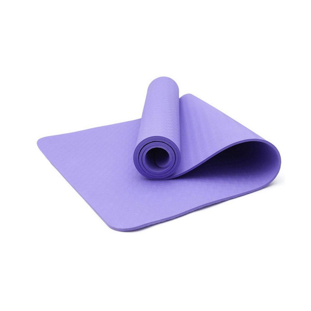 KIKIYA 4Mm Yoga Mat-Floral De Doble Capa Eco TPE con ...