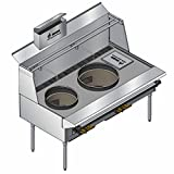 Pantin Chinese Wok Range PCR-102 (with refuse chutes + basket)