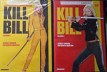 Pack Kill Bill 1 + 2 [DVD]: Amazon.es: Uma Thurman, Lucy Liu ...