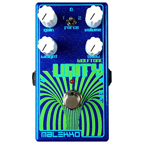 Malekko Heavy Industry Unity MKII Fuzz Guitar Effects ()
