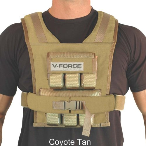 45 Lb. V-Force Weight Vest - Made in USA
