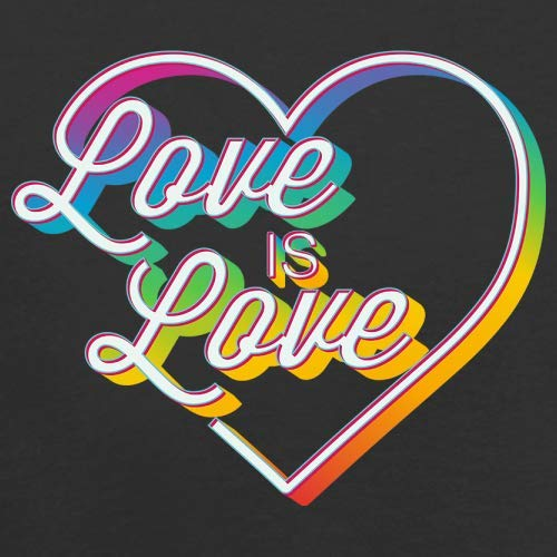 Dressdown Love is Love - Unisex Adult Apron - Black - One Size by Dressdown (Image #2)