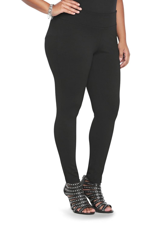 Slim Fix Pixie Pant - Black All-Nighter Ponte (Short)