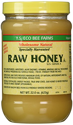 Y.S. Eco Bee Farms Raw Honey - 22 oz Pack of - Unpasteurized Honey Liquid