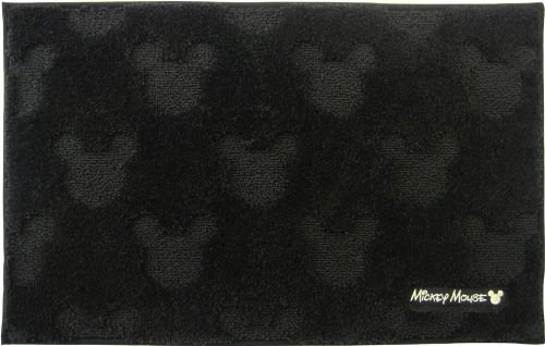 Charmant Mickey Mouse bath mat black 50 ~ 80cm by Okato