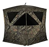 Rhino Blinds R500-MOC 4+ Person Hunting Ground Blind, Mossy Oak...