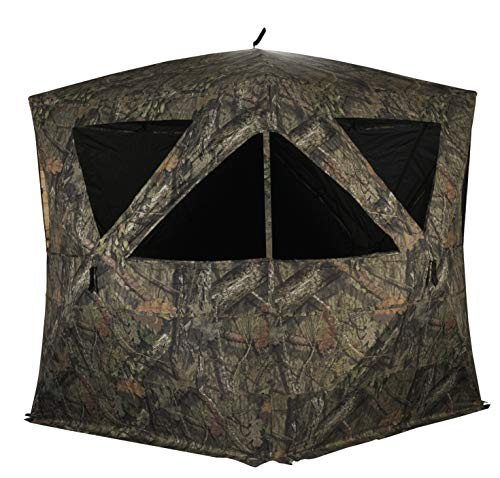(Rhino Blinds R500-MOC 3 Person Hunting Ground Blind, Mossy Oak Breakup Country)