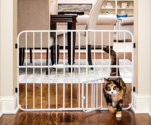 Carlson Tuffy Metal Expandable Pet Gate 51lCbDvkvRL