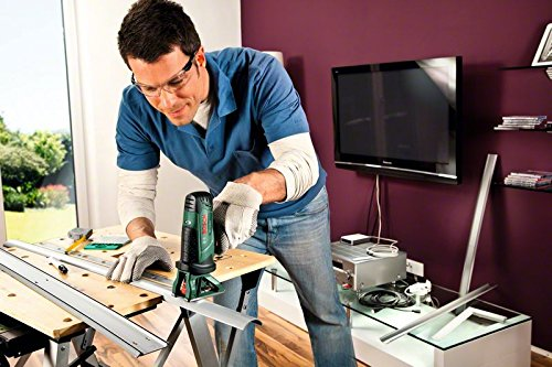 Bosch Akku Multis/äge PST 10,8 LI 10,8 V, 2,0 Ah, 30 mm Schnitttiefe in Holz Akku, Ladeger/ät, S/ägeblatt, Koffer