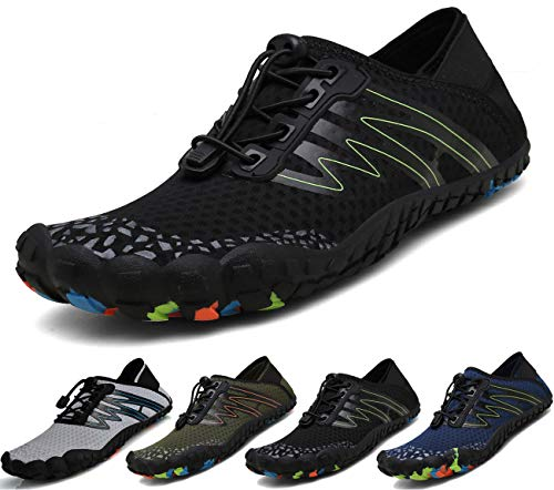Mens Womens Water Sports Shoes Hiking Shoes Quick Drying Barefoot Outdoor Trail Running Sneakers ()