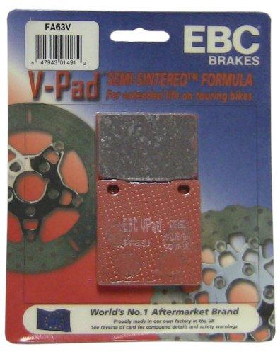 EBC Brakes FA63V Semi Sintered Disc Brake Pad