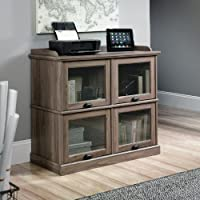 Sauder Barrister Lane Highboy TV Stand in Salt Oak