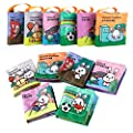 TUMAMA Baby Soft Books for Newborn Babies, Baby Cloth Books, Early Education Toys for Toddler, Boy and Girl, Touch and Feel Activity, Pack of 6 by Tumama that we recomend individually.