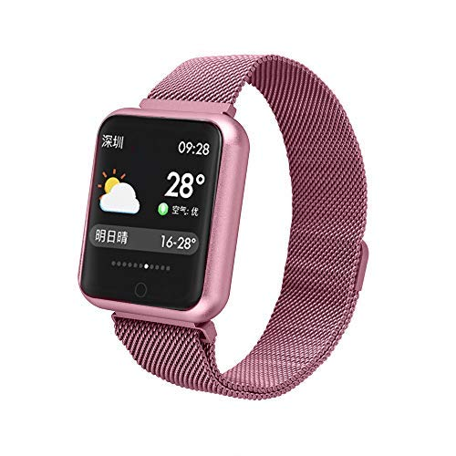 TechCode Smart Watch Waterproof, Colour Screen Smart