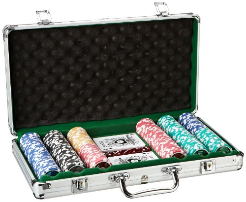 Piatnik 7903 - Poker Set 300 High Gloss Chips