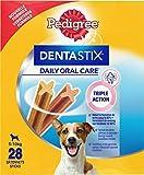 Pedigree Dentastix - Friandises pour Petit Chien - 28 Sticks Hygiène Bucco-Dentaire - Pack de 4