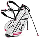 Srixon 2015 ZFOUR Stand Bag, White/Pink Review