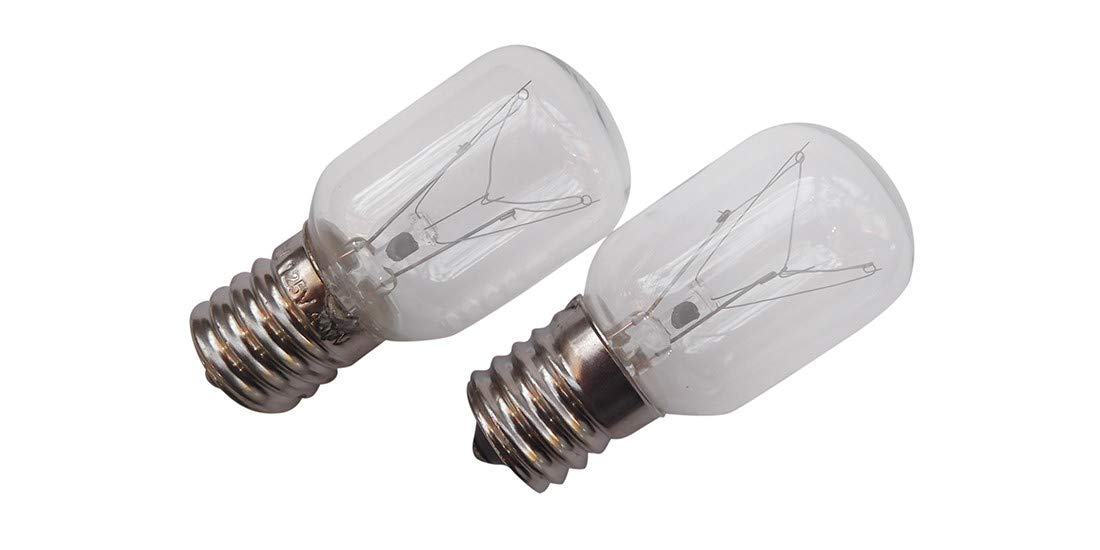 2 X Whirlpool 8206232A Light Bulb