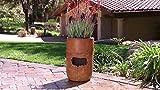 Rainshower Cordless Garden Water Fountain & Flower Planter