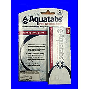 Aquatabs Water Purification Tablets (30 Pack)