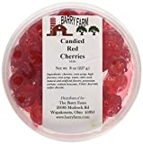 Candied Red Cherries, Whole, 8 oz. by Barry Farm