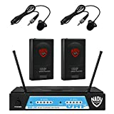 Nady UHF-24 Wireless Dual Lapel / Lavalier Microphone System with True Diversity