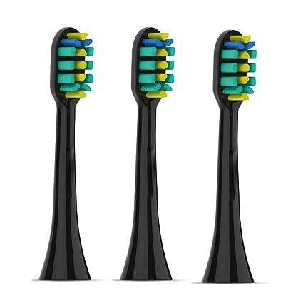 El cepillo de dientes eléctrico de Sonic es recargable con 3 cabezas de cepillo de repuesto