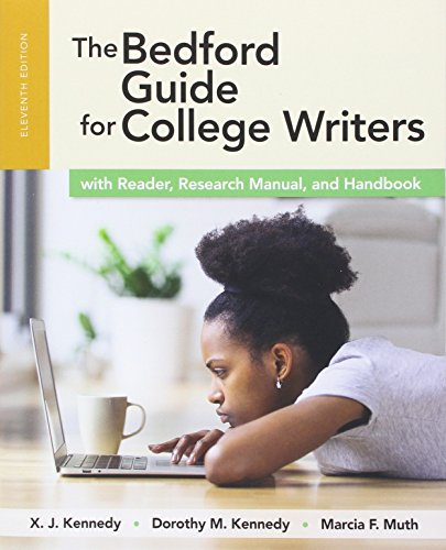 1319039596 - The Bedford Guide for College Writers with Reader, Research Manual, and Handbook