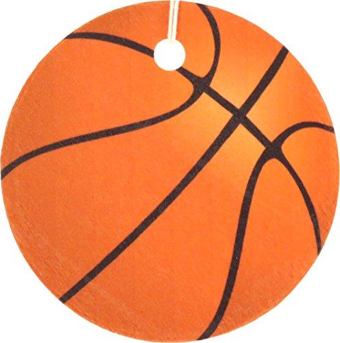 [해외]4 개의 농구 공기 청정기, 신선한 장의 세트/Set of Four Basketball Air Fresheners, Fresh Sheets