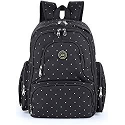 Baby Diaper Bag Smart Organizer Waterproof Travel Diaper Backpack