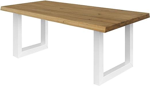 COMIFORT Mesa de Comedor - Mueble para Oficina Robusto y Moderno ...