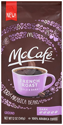 McCafe Coffee French Roasted Ground Coffee, Dark Roast, 12 Ounce