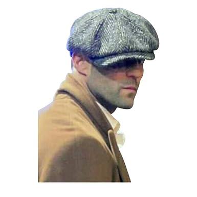 4af6a3c9b Mens Peaky Baker Boy Flat Cap - Small (56 cm): Amazon.co.uk: Clothing