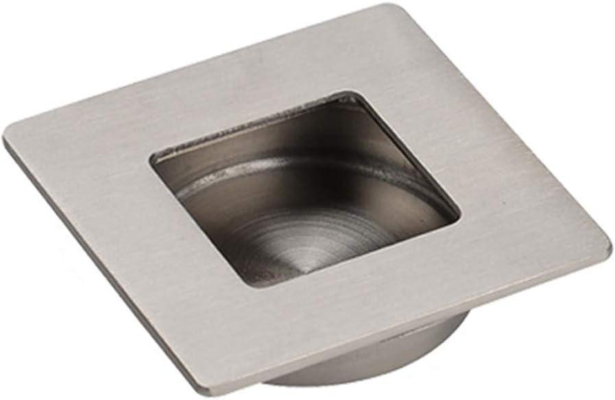 BIKITIQUE - Tirador de cajón de Mano Invisible para pomo con Puerta corredera de Acero Inoxidable 201, Plateado, Medium: Amazon.es: Hogar