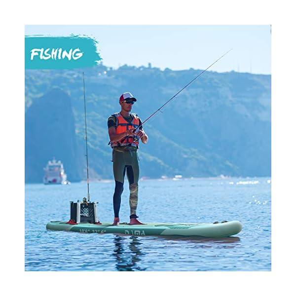 Fishing on DAMA surfboard | Sub Boards