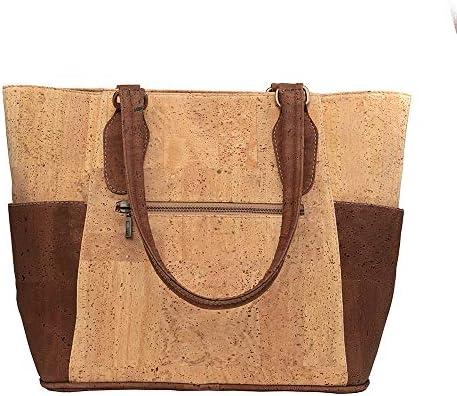 Cork Tote Bag Vegan Gift Handbag