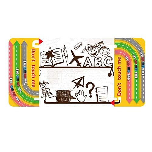DIYthinker - Estantería de Libros para niños con ilustración para decoración de Coche