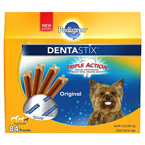 Treat Value Pack (PEDIGREE DENTASTIX Original Toy/Small Treats for Dogs - Value Pack 1.3 Pounds 84 Count)