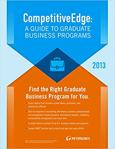 Peterson's compact guides graduate and professional schools in the.
