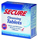 Secure Denture Cleansing Tablets 32 ea (Pack of 8)