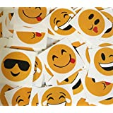 Emoji Temporary Tattoos Assorted Emoticon Prints Fun Party Item Of 288 Tattoos