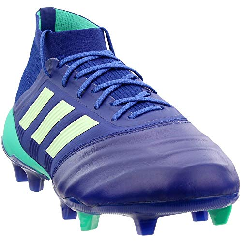 adidas Mens Predator 18.1 Firm Ground Soccer Casual Cleats, Navy, 10 (Predator Adidas 10 Size)
