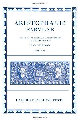 Aristophanis fabulae, tomus 2: Lysistrata, Thesmophoriazusae, Ranae, Ecclesiazusae, Plutus