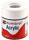 Humbrol 12ml Acrylic Paint No. 1 Matt (Grey Primer)