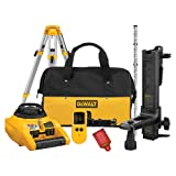 DEWALT DW074KDT Heavy-Duty Self Leveling Interior/Exterior Rotary Laser with Tripod