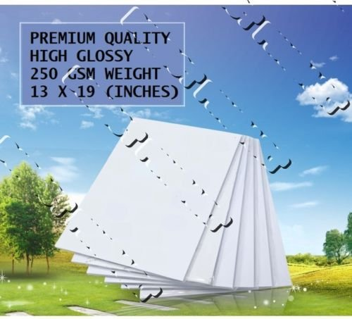 ality high gloss photo paper 60 sheets glossy 250 gsm ()