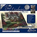 Royal & Langnickel Paint Your Own Masterpiece Painting Set, Romantic Cottage