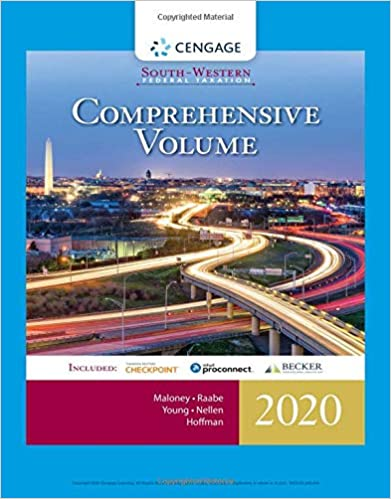 South-Western Federal Taxation 2020: Comprehensive
