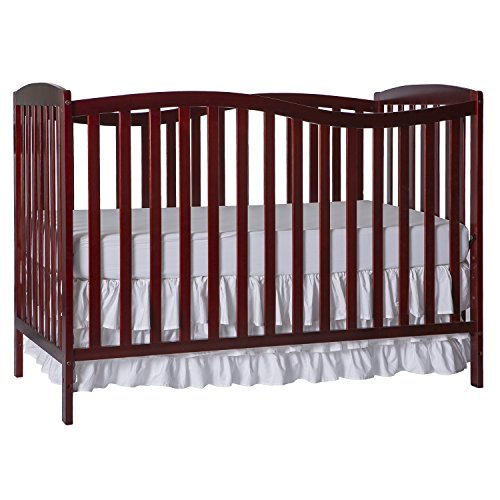 Dream On Me Chelsea 5 In 1 Convertible Crib Cherry